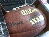 NFL Sports Memorabilia MINI SUPERBOWL XXXIII FOOTBALL